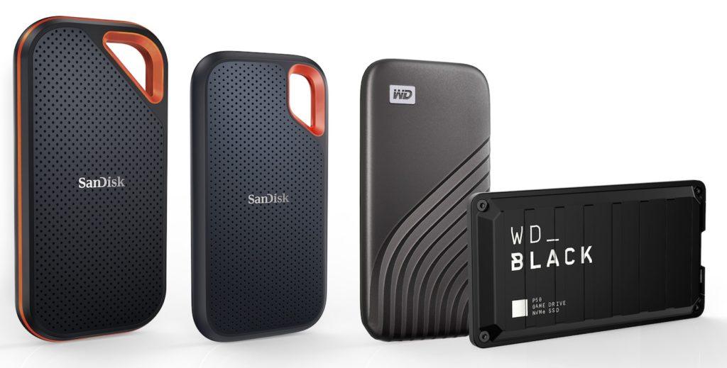 Les SSD externes de Western Digital et SanDisk passent à 4 To