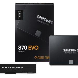 Image article Samsung met en vente ses SSD 870 EVO plus rapides