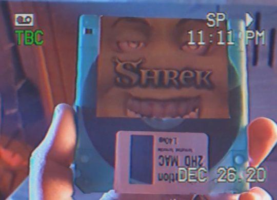 Shrek disquette