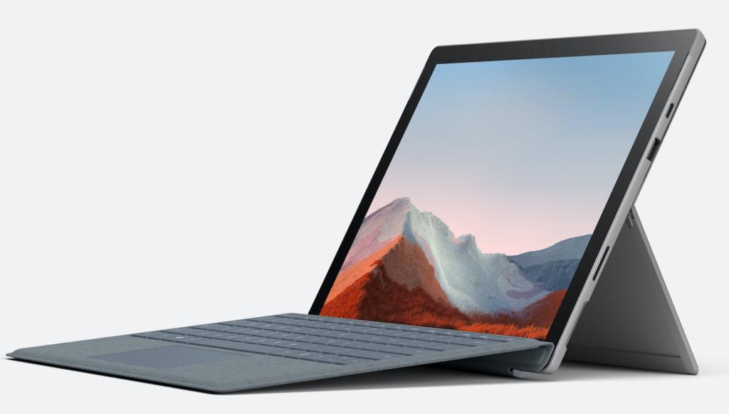 Surface Pro 7 Plus et Clavier