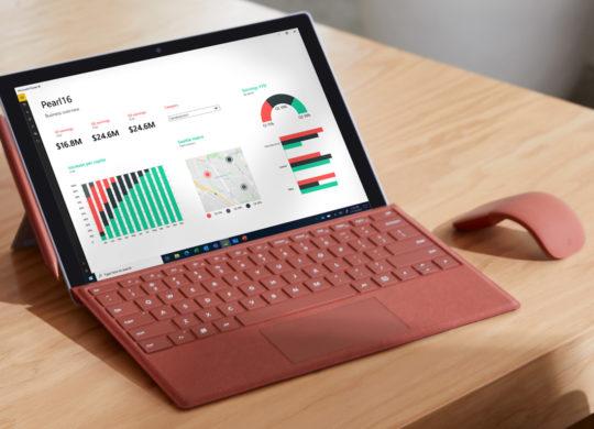 Surface Pro 7 Plus et Souris