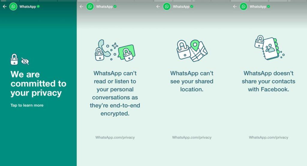 WhatsApp fait de la pub après les départs vers Signal et Telegram