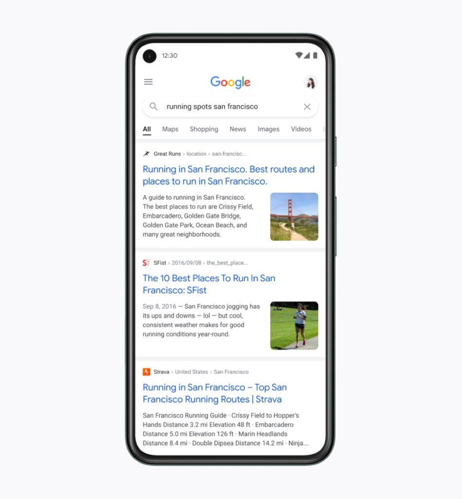 New Google Search Interface Mobile View 2 949x1024