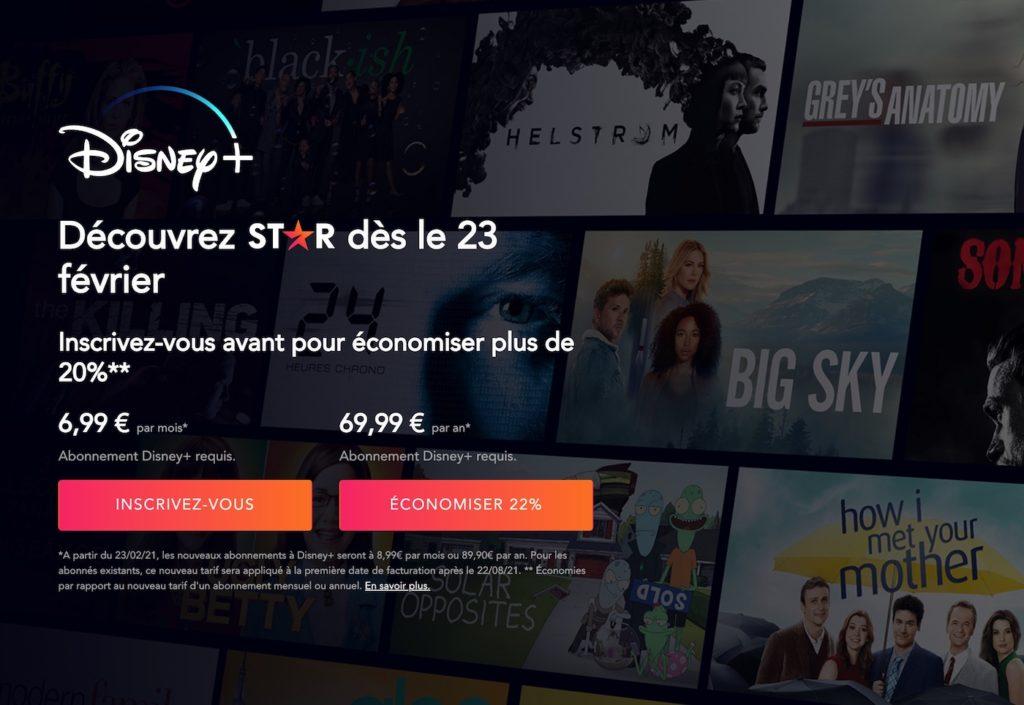 Disney+ Star : comment éviter la hausse de prix