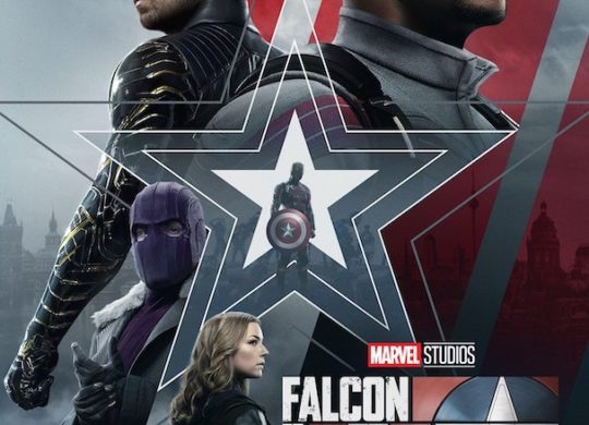 Falcon et le Soldat de Hiver Affiche Francaise