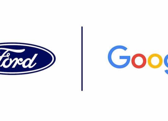 Ford et Google Logos