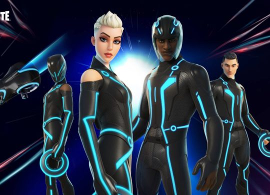 Fortnite Tron Skin