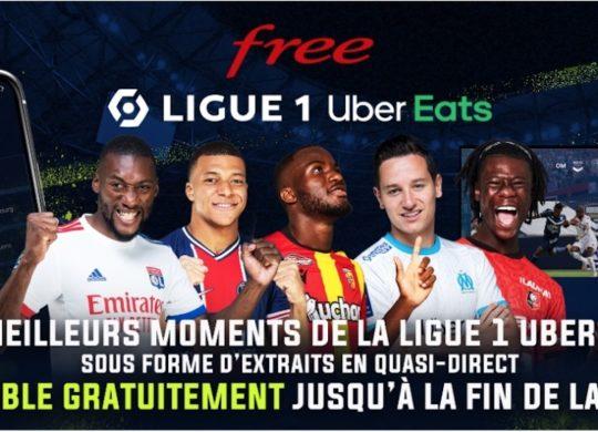 Free Ligue 1 Uber Eats Gratuit Fin Saison 2020-2021