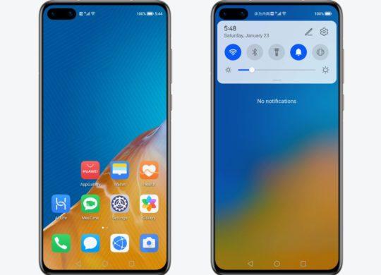 HarmonyOS Beta Smartphone Accueil