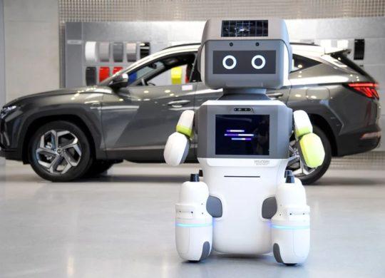 Hyundai robot concession