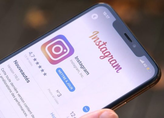 Instagram Logo Icone