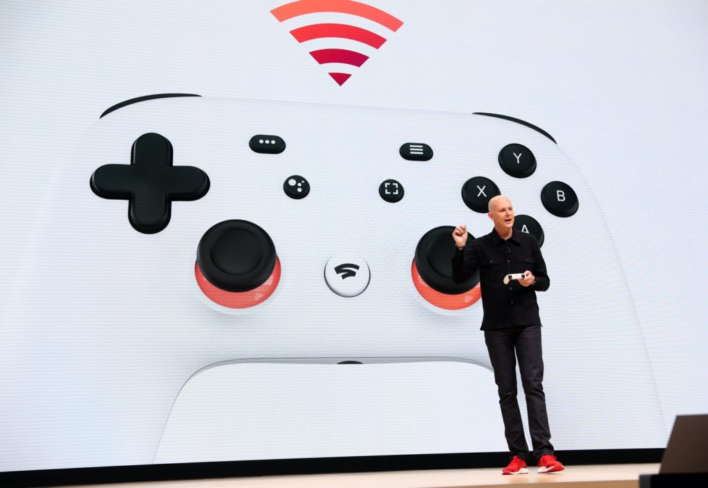 Manette Stadia et Phil Harrison