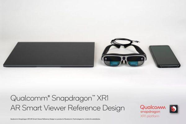 Qualcomm lunettes AR XR1 1