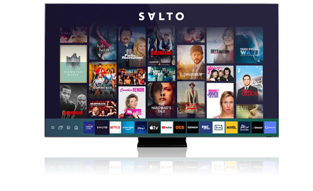 Salto débarque sur les téléviseurs Samsung sous Tizen