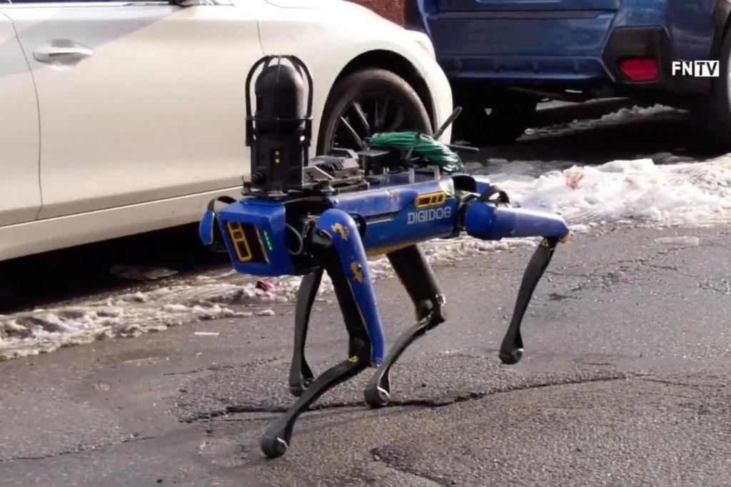 Spot robot NYPD