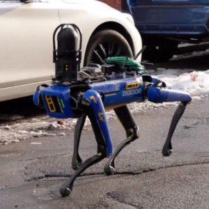 Image article La Police de New-York utilise (à nouveau) un robot Spot en opération