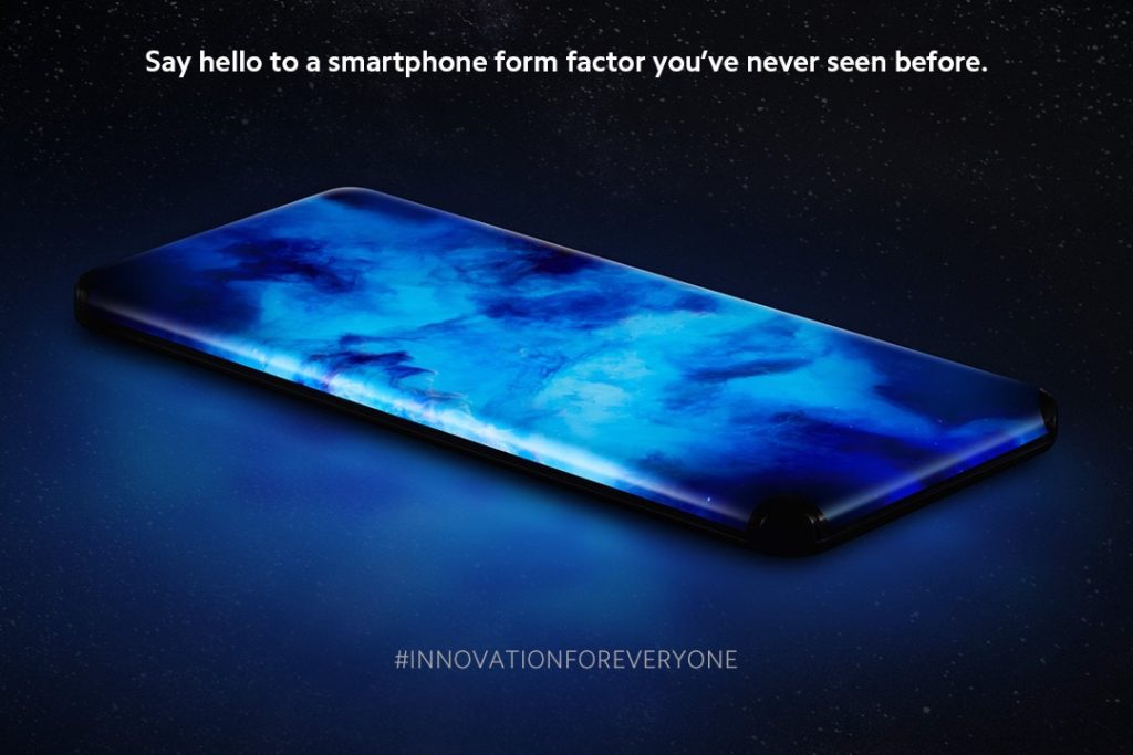 Xiaomi Concept Smartphone Ecran Deborde