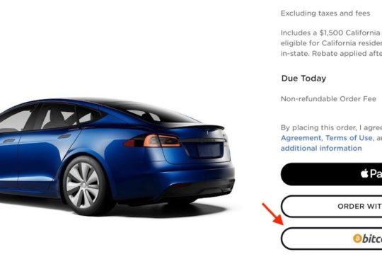 Acheter Tesla en Bitcoin