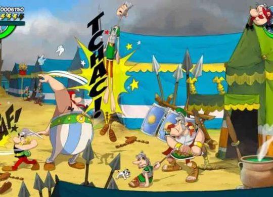 Asterix Baffez-les Tous jeu microid