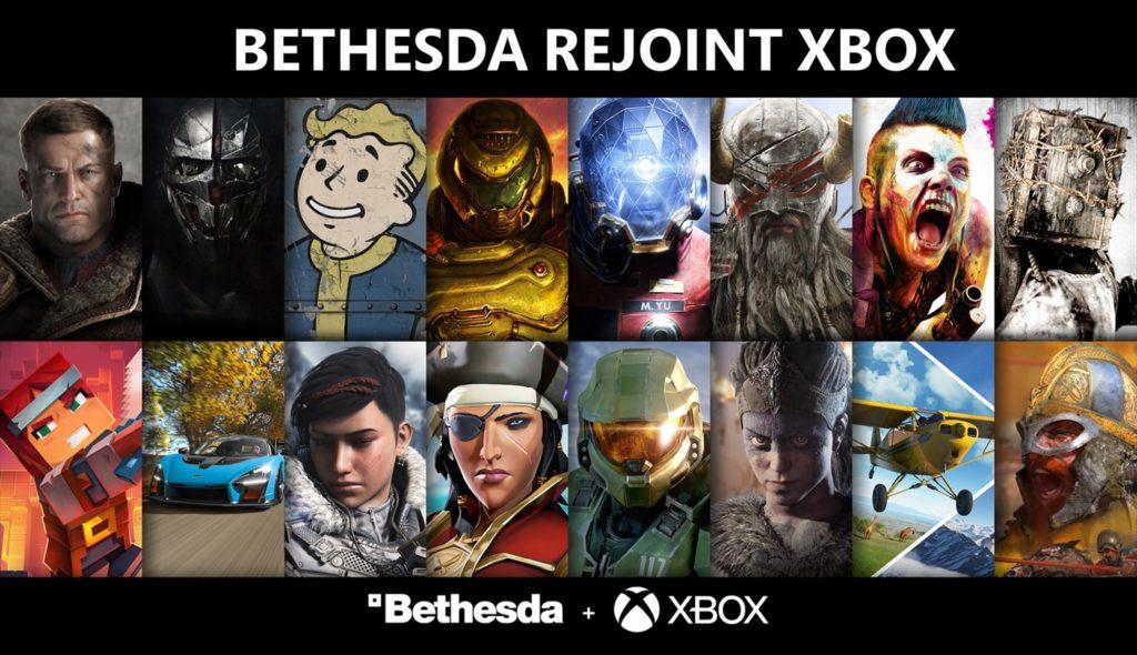 Bethesda Rejoint Microsoft Xbox