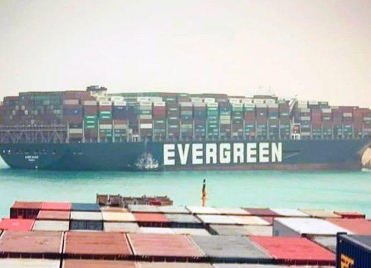 Canal de Suez bouché