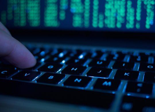 Clavier Touches Hack Lignes de Code