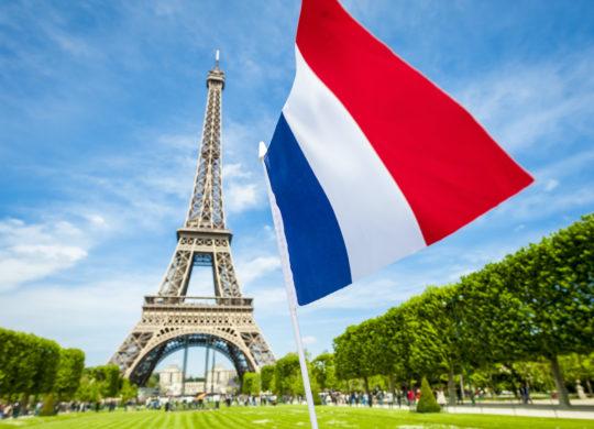 Drapeau France Tour Eiffel