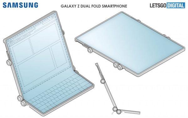 Galaxy Z Fold double 1