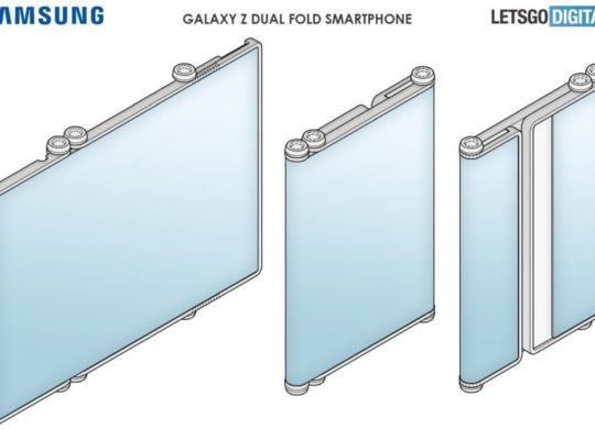 Galaxy Z Fold double