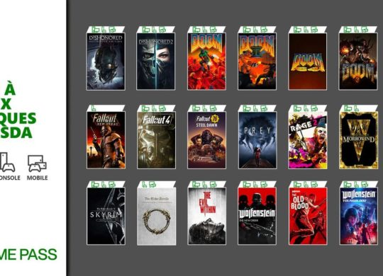 Game Pass jeux Bethesda
