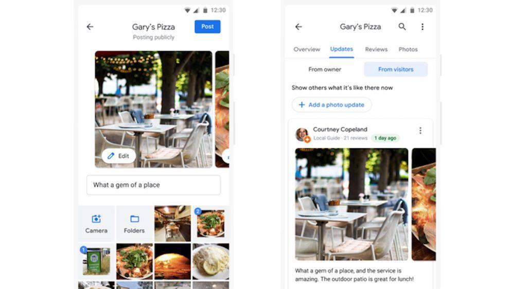 Google Maps Photos Recentes