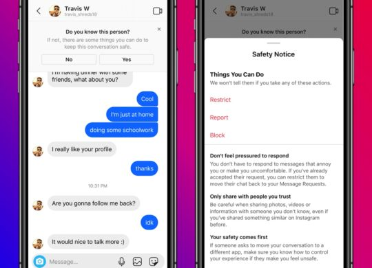 Instagram Mesures Protections Jeunes Message Prive