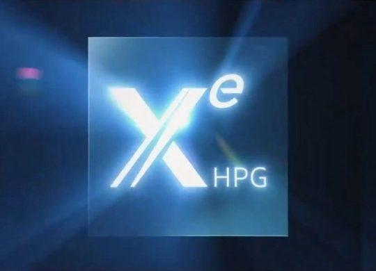 Intel GPU Xe HPG