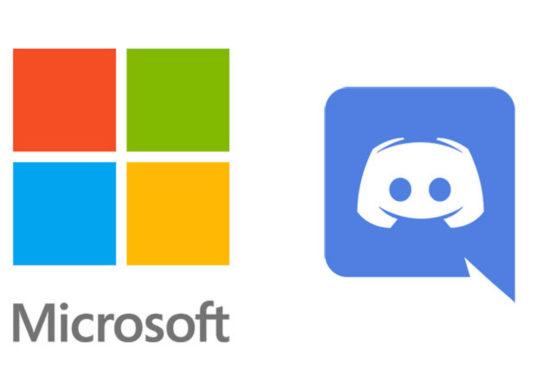 Microsoft Discord Logos
