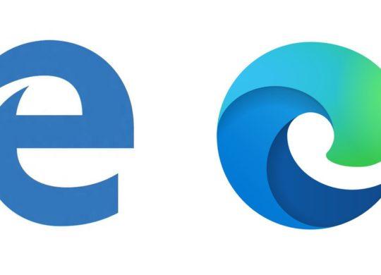 Microsoft Edge Ancienne Icone vs Nouvelle