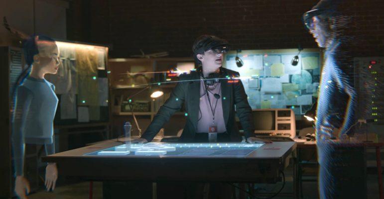 Microsoft Mesh Hologrammes