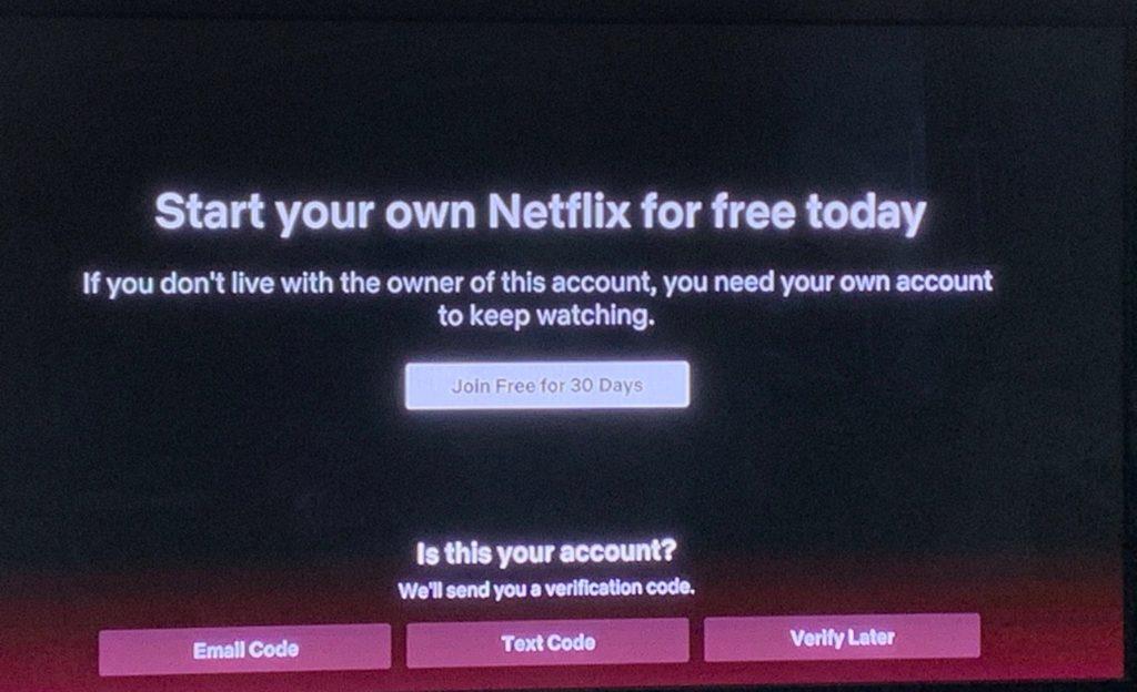 Netflix veut mettre fin au partage de comptes