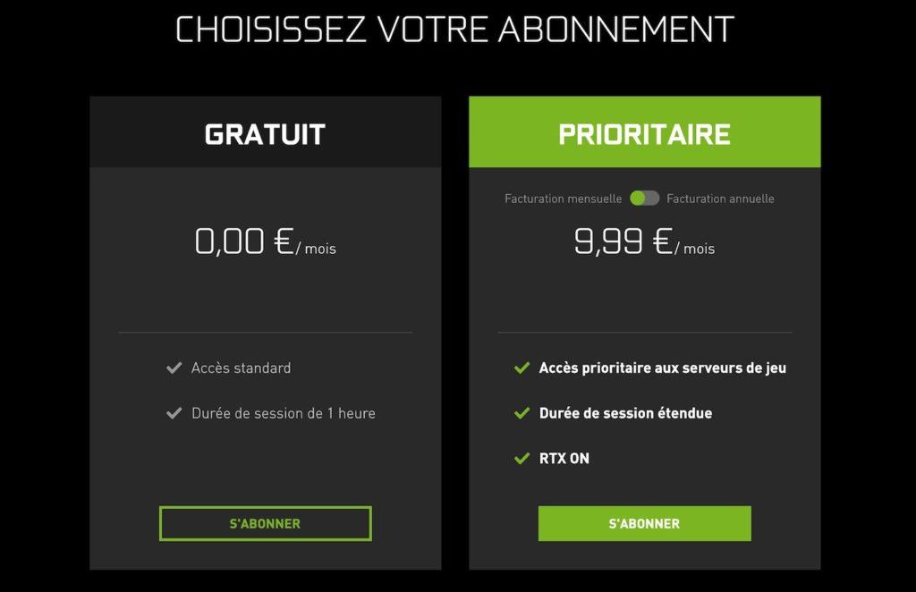 Nvidia double le prix de l'abonnement à GeForce Now