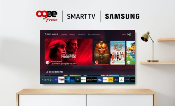 OQEE by Free Smart TV Samsung