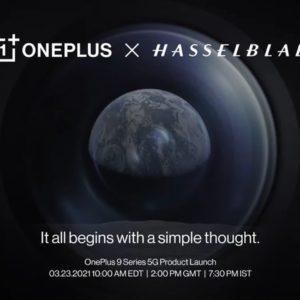 Image article OnePlus 9 : finalement, ce sera le 23 mars, avec Hasselblad en partenaire