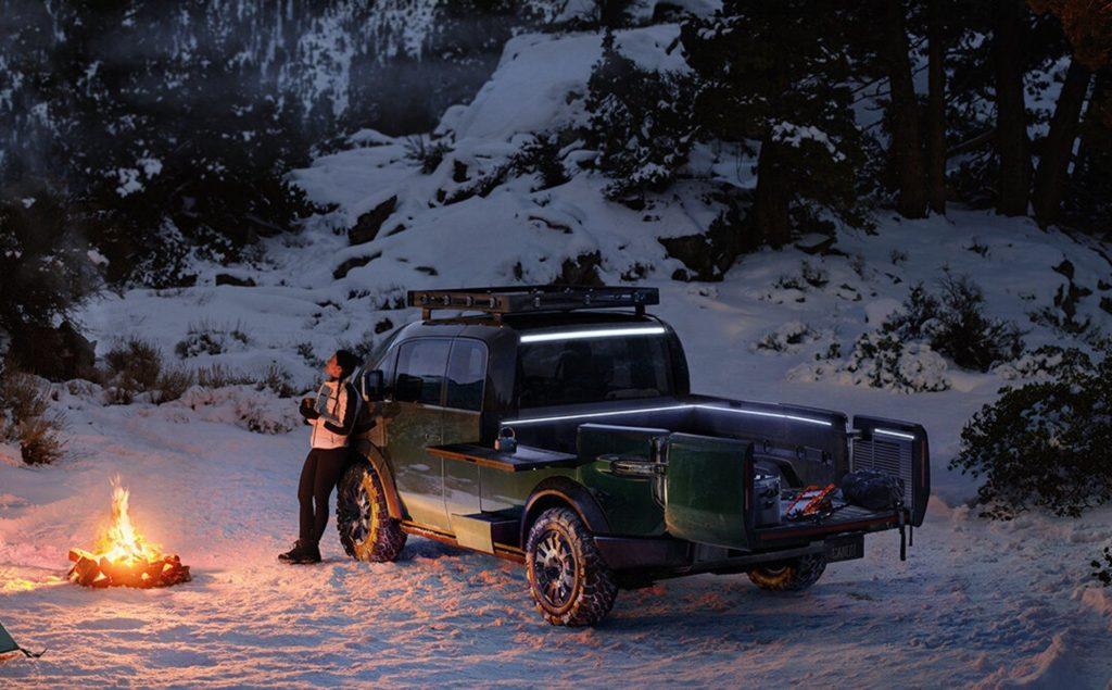 Pickup Electrique Canoo En Exterieur 1024x635