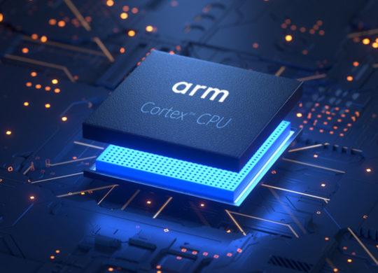 Puce ARM Cortex