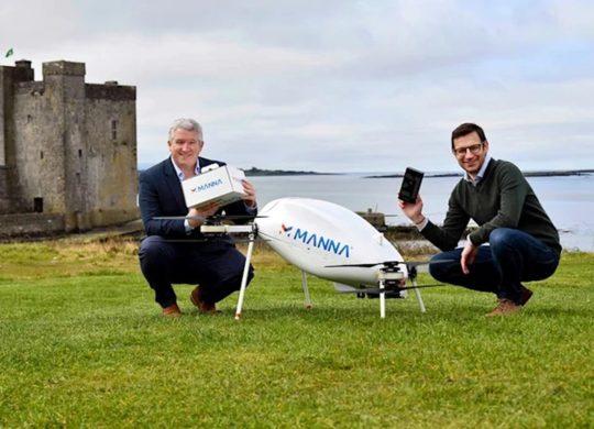 Samsung livraison Drone