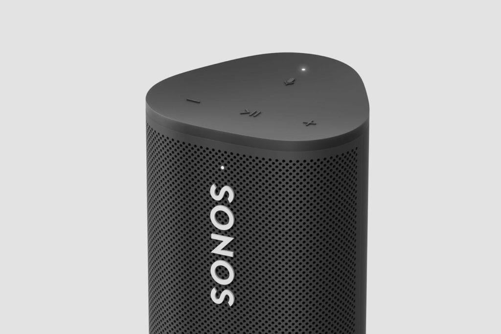 Sonos Roam Noir Bouton