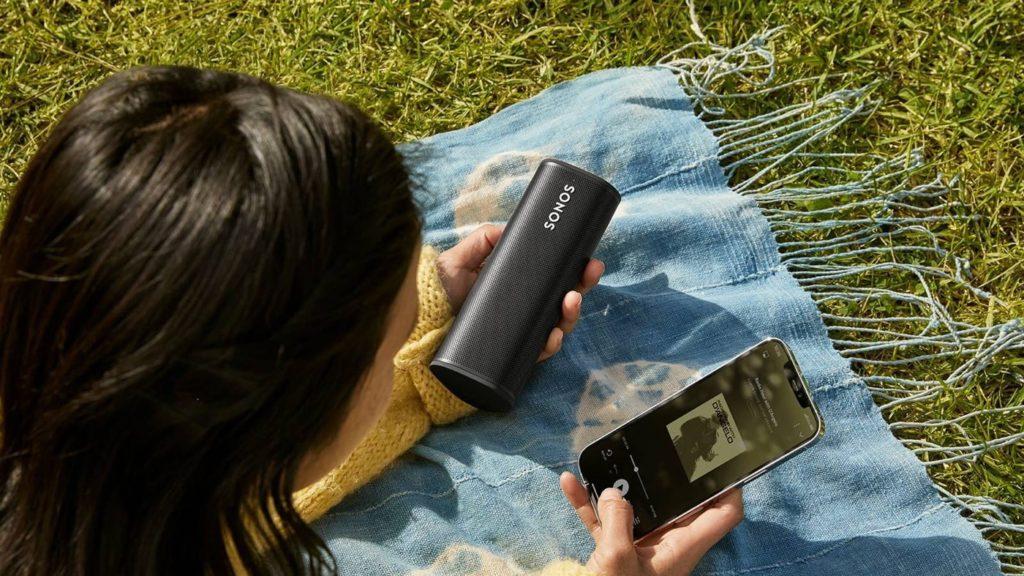 Sonos Roam et Smartphone