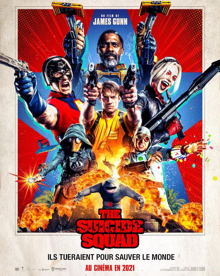 The Suicide Squad Affiche