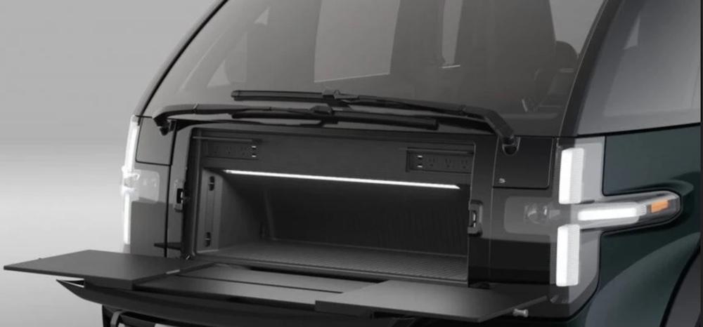 Coffre Avant Pickup Electrique Canoo
