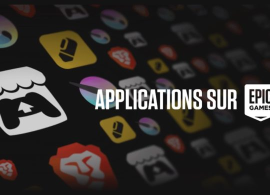 Applications sur Epic Games Store