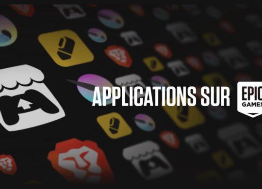 Applications sur Epic Games Store