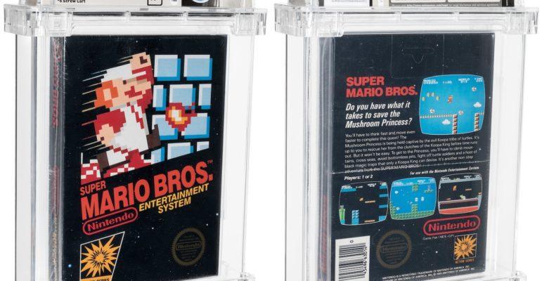 Cartouche Super Mario Bros Enchere